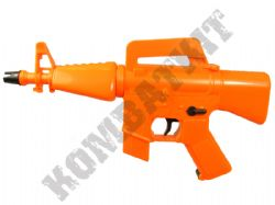 HB101 M16 Style Mini Electric Airsoft Machine Gun Orange and Black